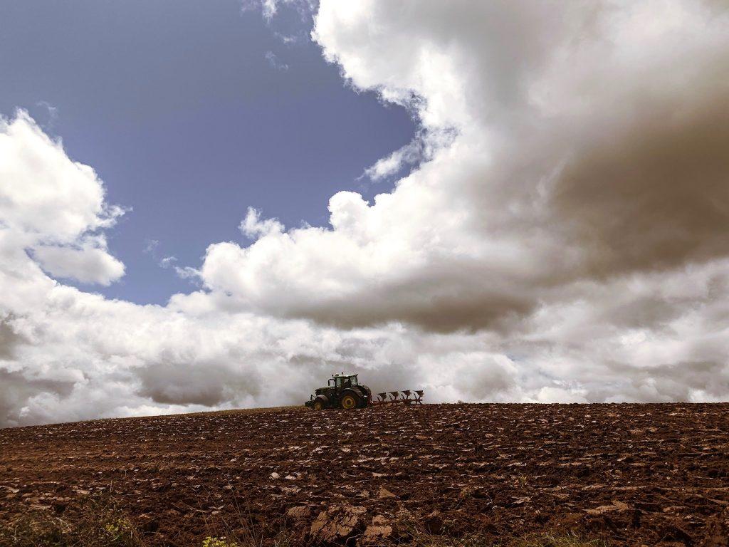 ploughing-camino-de-santiago