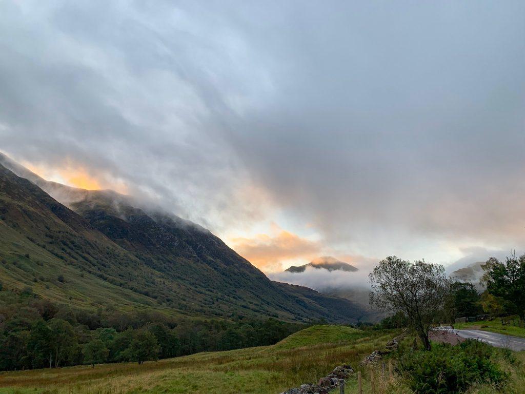 Sunrise on Ben Nevis